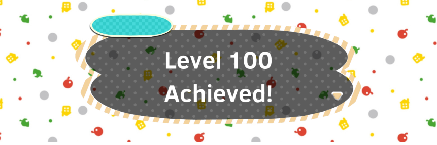 I finally did it! Level 100 Achieved!